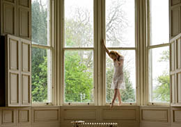 Window dancer